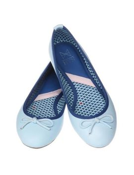 Butterfly Twists&Nbsp;Harley Viera Newton  Women's Blue Leather Ballet Flats Size 6 by Butterfly Twists X Hvn