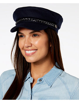 I.N.C. Flannel Newsboy Cap, Created For Macy's by Inc International Concepts