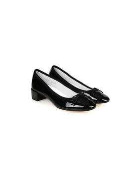 Upper East Shoes For Women Comfortable Ballerina Flats Shoes Patent Black by Upper East