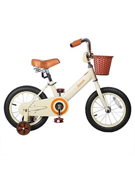 Joystar 14 Inch Classic Kids Bike, Unisex Kids Bike With Front Basket , Coaster Brakes (85 Percents Assembled) by Drbike