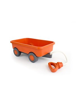 Green Toys Wagon Outdoor Toy Orange by Green Toys