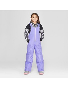 Girls' Snow Bib   C9 Champion® Purple by C9 Champion®