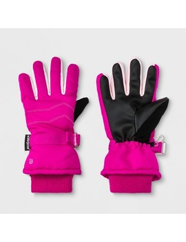 Girls' Ski Gloves   C9 Champion® Pink by C9 Champion®