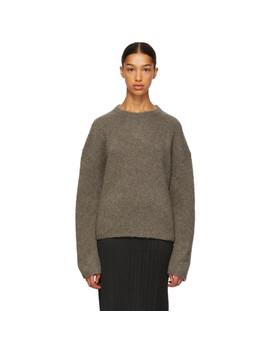 Taupe Biella Sweater by TotÊme