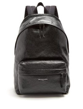 Arena Leather Backpack by Matches Fashion