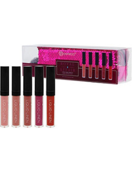 Royal Affair   5 Piece Liquid Linen Lip Color Set by Bh Cosmetics