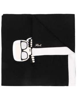 Ikonik Pocket Scarf by Karl Lagerfeld