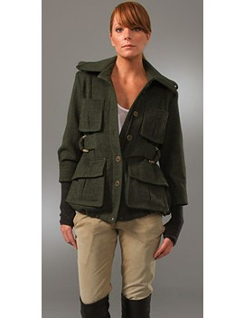 Surplus Jacket With Fingerless Gloves by Smythe