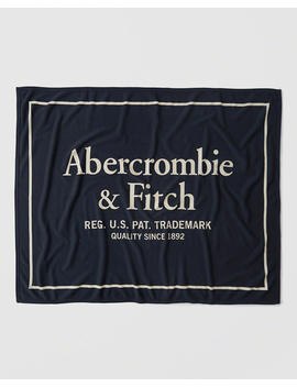 Manta Con Logo Varsity by Abercrombie & Fitch