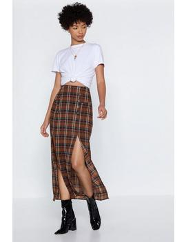 Do The Splits Maxi Skirt by Nasty Gal