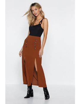 Seeing Double Midi Skirt by Nasty Gal