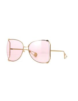 Gucci Gg0252 S 004 by Gucci Sunglasses