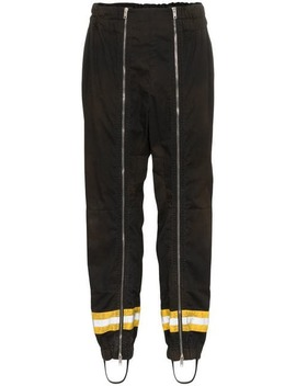 Striped Tapered Track Pants by Calvin Klein 205 W39nyc