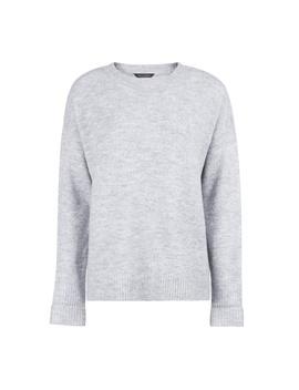 Grey Step Hem Knitted Jumper by Dorothy Perkins