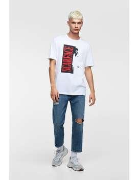 Scarface™ T  Shirt Cartoons And Slogans® T Shirts Man by Zara