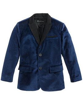 I.N.C. Boy's Velvet Blazer, Created For Macy's by Inc International Concepts