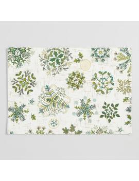 Botanical Snowflake Placemats Set Of 4 by World Market