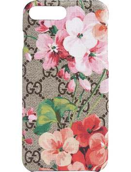 Gg Blooms I Phone 8 Plus Case by Gucci