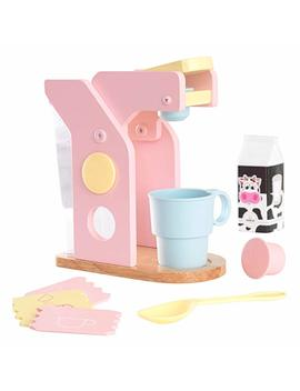 Kid Kraft Pastel Coffee Playset by Kid Kraft
