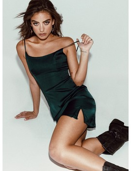 Jagger & Stone Dylan Mini Dress Green by Jagger & Stone