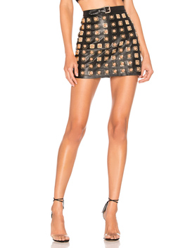 Deco Stud Skirt by For Love & Lemons