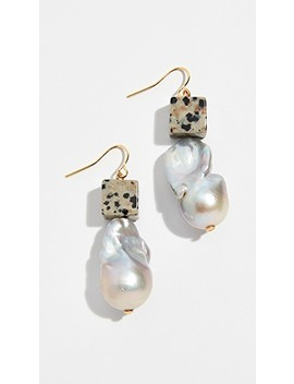 Baroque Pearl & Bead Drop Earrings by Tory Burch