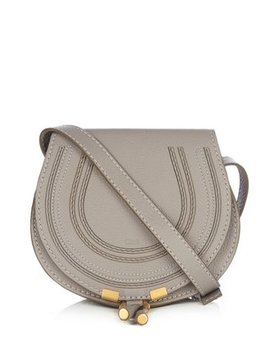 Marcie Mini Leather Cross Body Bag by Matches Fashion