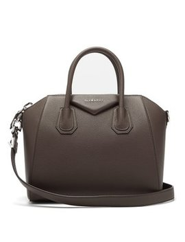 Antigona Small Grained Leather Bag by Matches Fashion