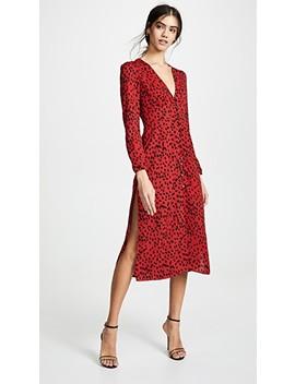 Red Leopard Scarlett Dress by Rahi