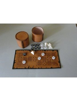 Royal Game Of Ur   Ancient Leather Board Game by Etsy
