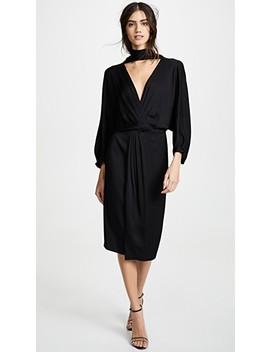 Front Twist Wrap Dress by Diane Von Furstenberg