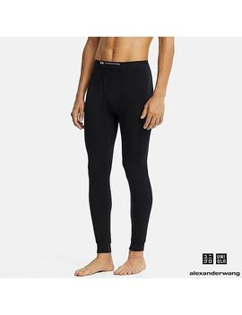 Men Alexander Wang Heattech Extra Warm Tights by Uniqlo