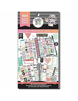 Me & My Big Ideas Ppsv 09 2048 Create 365 The Happy Planner Sticker Value Pack Planner, Productivity by Me & My Big Ideas