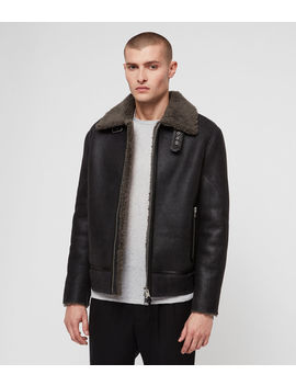 Lowell Shearling Jacket by Allsaints