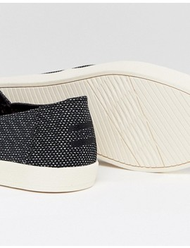 Toms Avalon Plimsolls In Black by Toms