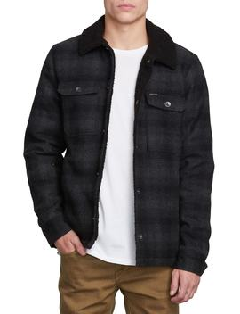 Keaton Jacket With Faux Shearling Trim by Volcom