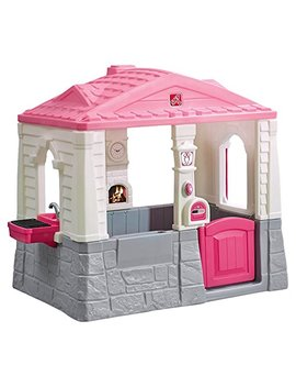Step2 Happy Home Cottage & Grill Kids Playhouse, Pink by Step2