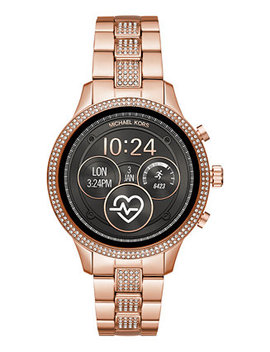 Access Unisex Runway Rose Gold Tone Stainless Steel Bracelet Touchscreen Smart Watch 41mm by Michael Kors