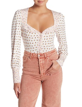 Kissin' Kate Dual Patterned Shirt by Free People