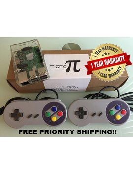 Raspberry Pi Retropie System New   1 Year Warranty   Over 10,500+ Classic Retro Games On 30 Systems!   Unlimited Tech Support! Plug And Play by Etsy