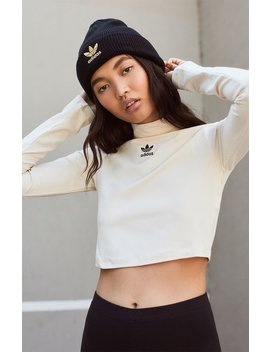 Adidas Cropped Long Sleeve Top by Pacsun