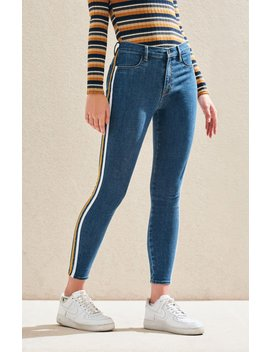 Pac Sun Basic Blue High Rise Jeggings by Pacsun
