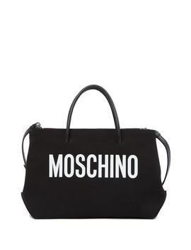 Brand Logo Mini Tote Bag by Moschino
