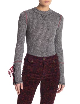 Mountaineer Lace Up Sleeve Thermal by Free People