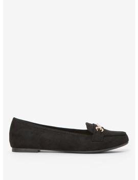 Black 'lair' Metal Trimmed Loafers by Dorothy Perkins