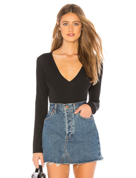 Super Soft Deep V Bodysuit by Free People