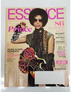 Revista Essence – Príncipe Rogers Nelson Cover Uma Noite Com O Príncipe Junho De 2014 by Ebay Seller