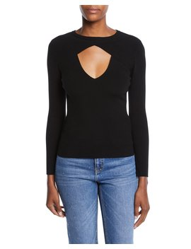 Curtis Cutout Crewneck Sweater by A.L.C.