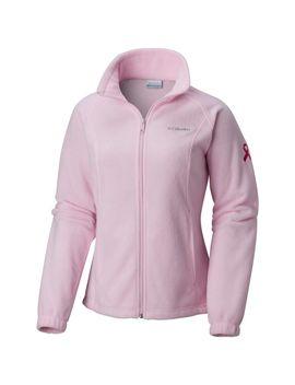 Women's Tested Tough In Pink™ Benton Springs Full Zip Fleece by Columbia Sportswear