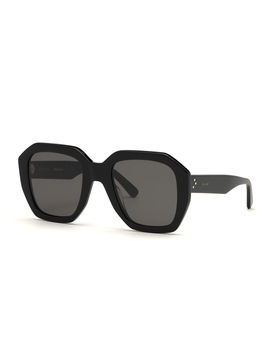 Square Universal Fit Acetate Sunglasses by Celine